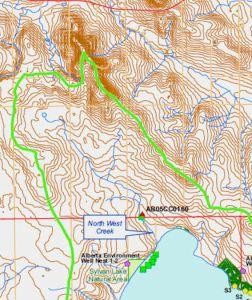 Northwest Creek Catchment Area