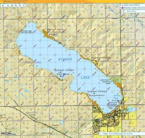 Wells in the Sylvan Lake Watershed.v2