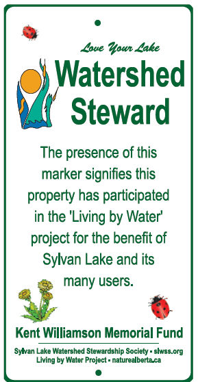 Watershed Steward Sign