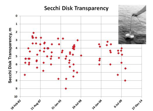 Secchi Disk Transparency