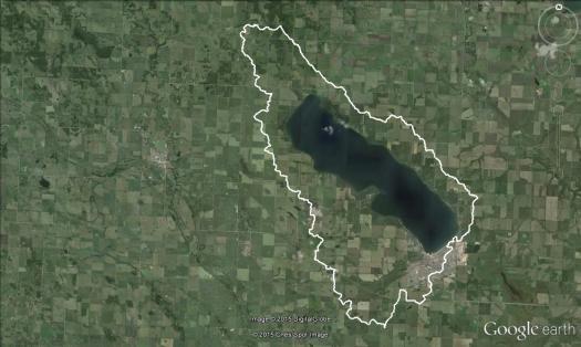 Sylvan Lake Watershed Boundary.v2