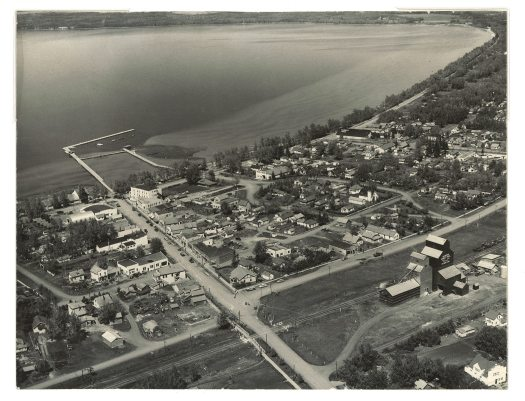 Sylvan Lake Aerial Photo from Archives