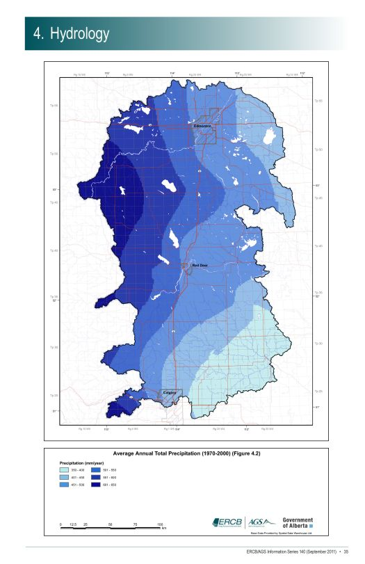 Ave Ann Total Precip-Fig4.2-ECC