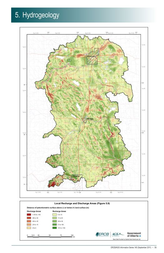 Local Rechg & Dischg Areas-Fig5.9-ECC