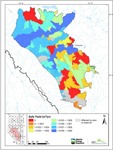 SL Groundwater Yield Map